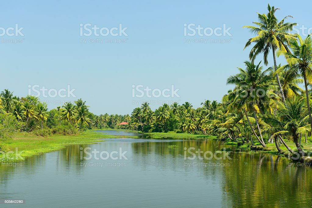 Kerala state in India stock photo