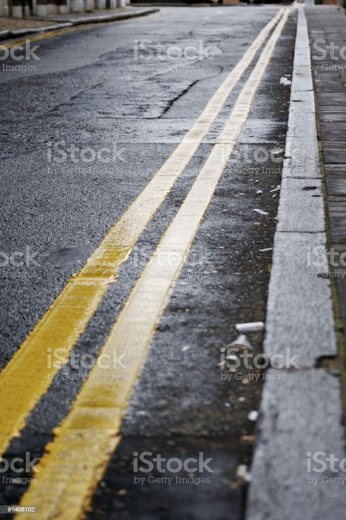Kerb Side... stock photo