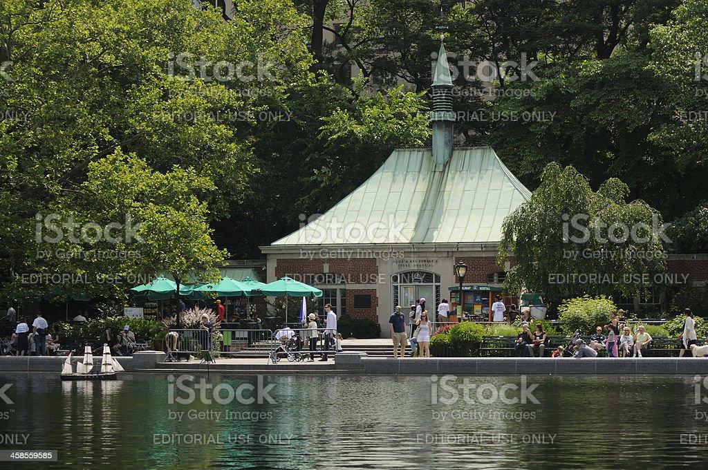 Kerbs Memorial Boathouse stock photo
