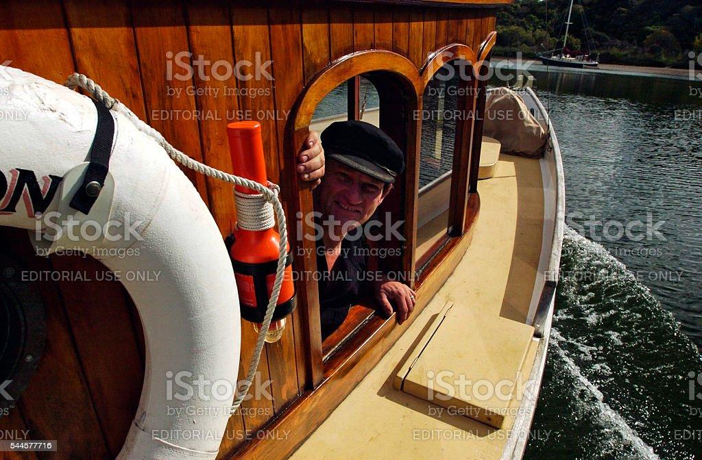 Kerikeri Steamboat - New Zealand stock photo