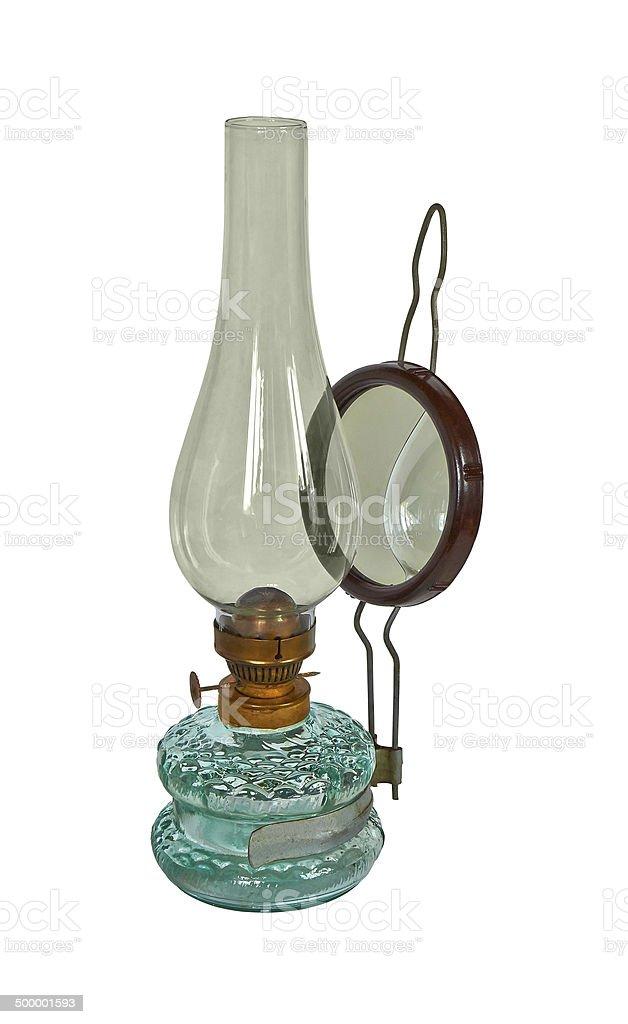 kerosene lamp royalty-free stock photo