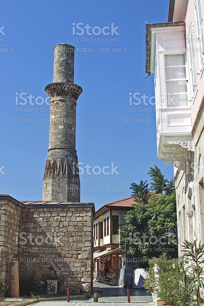 Kesik Minare Kaleici Стоковые фото Стоковая фотография
