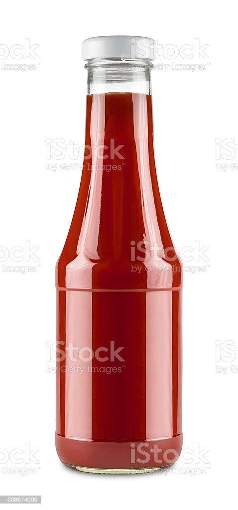 ketchup bottle stock photo