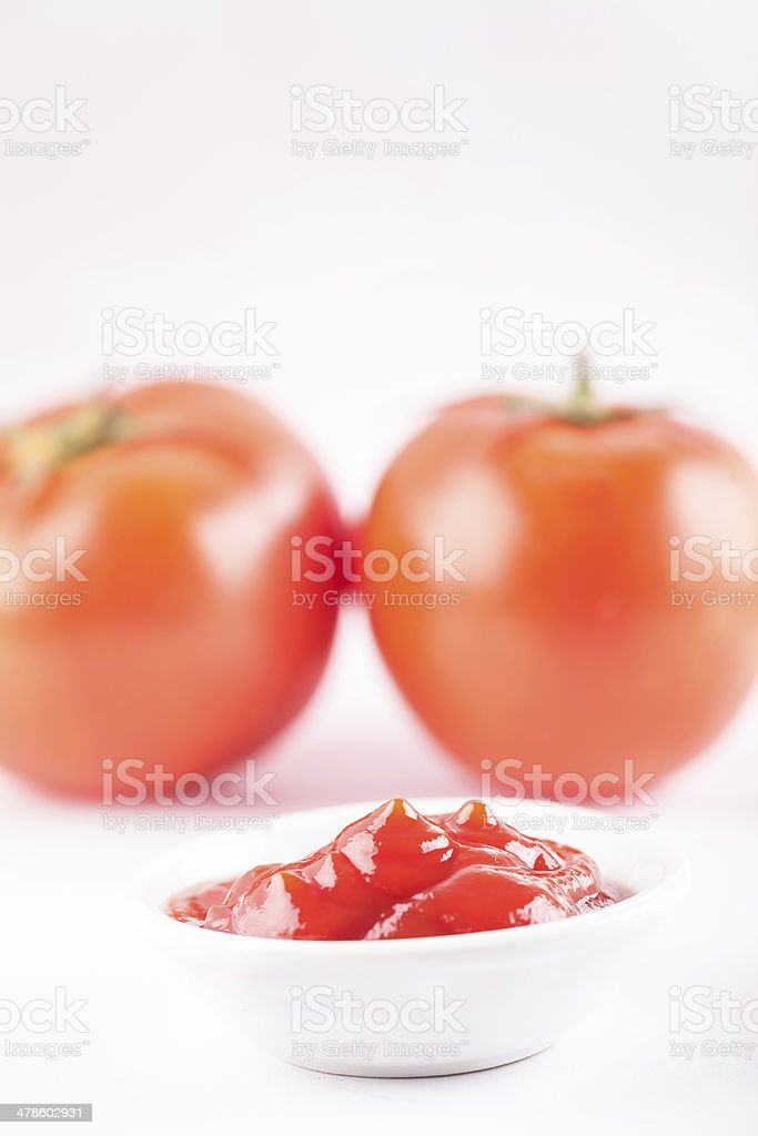 ketchup on table royalty-free stock photo