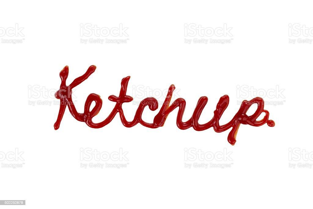 ketchup stock photo