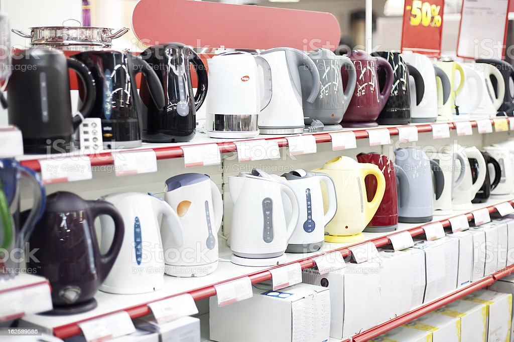 kettle sale royalty-free stock photo