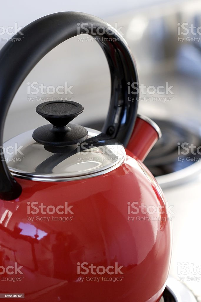 Kettle Upclose royalty-free stock photo