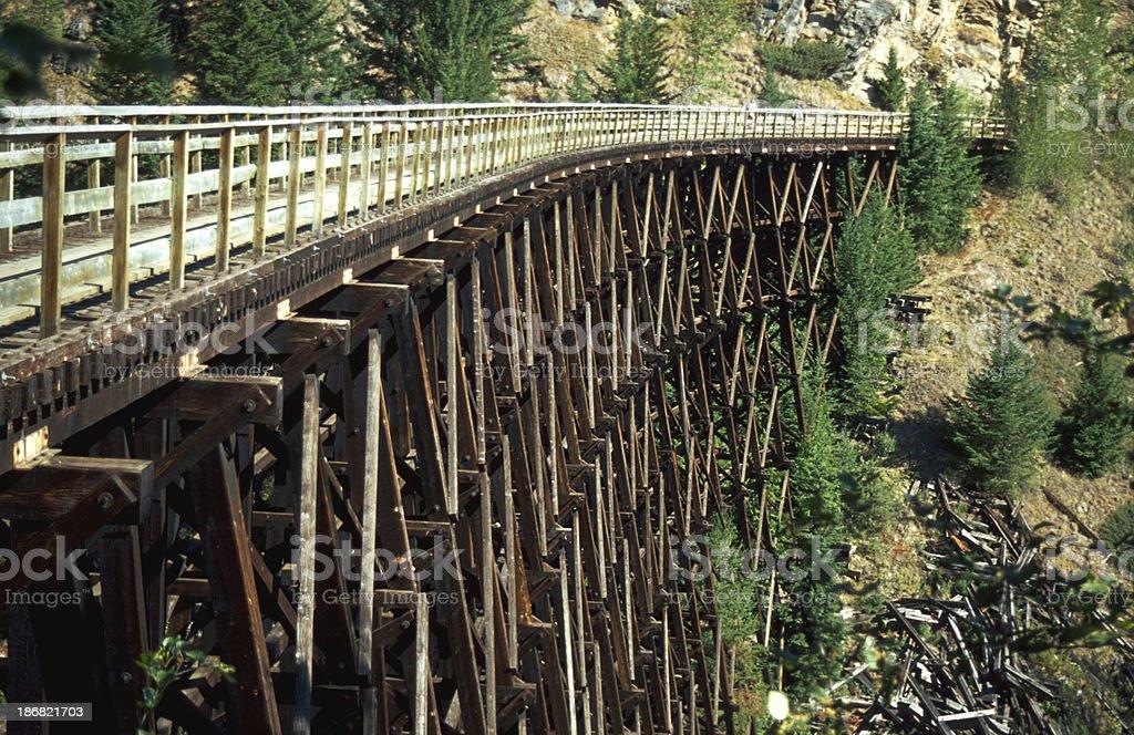 Kettle Valley Railway stock photo