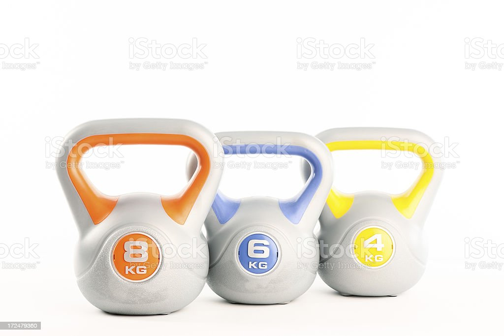 Kettlebell royalty-free stock photo