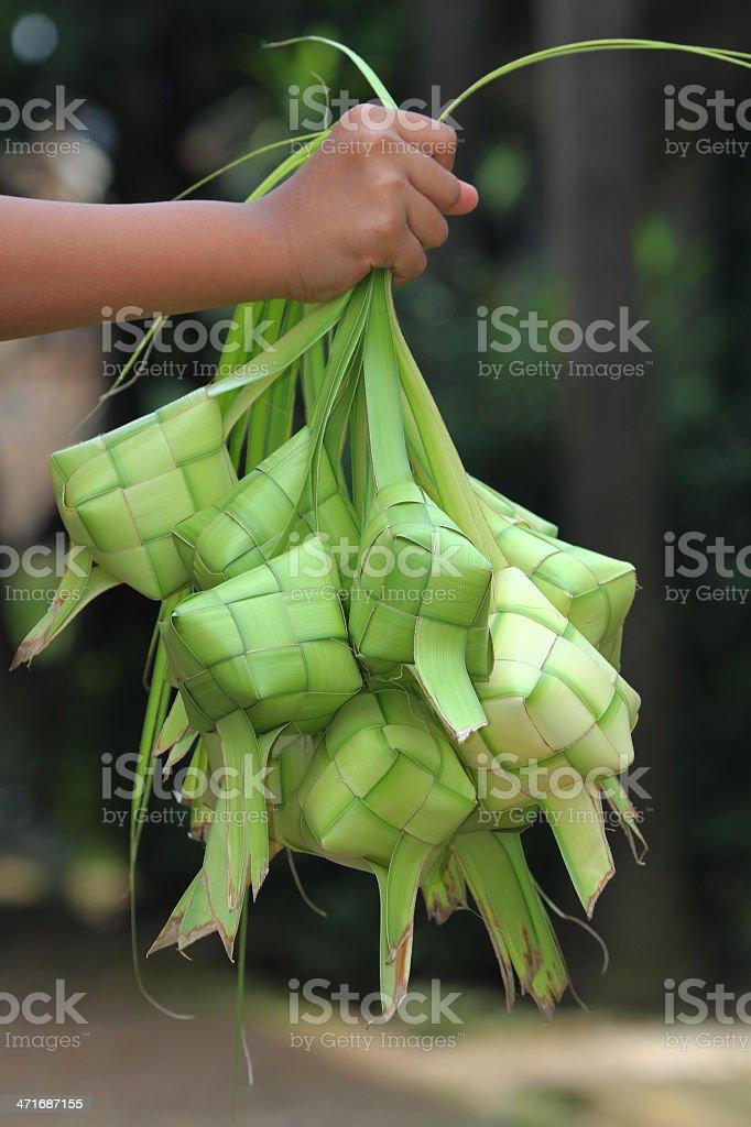 Ketupat royalty-free stock photo