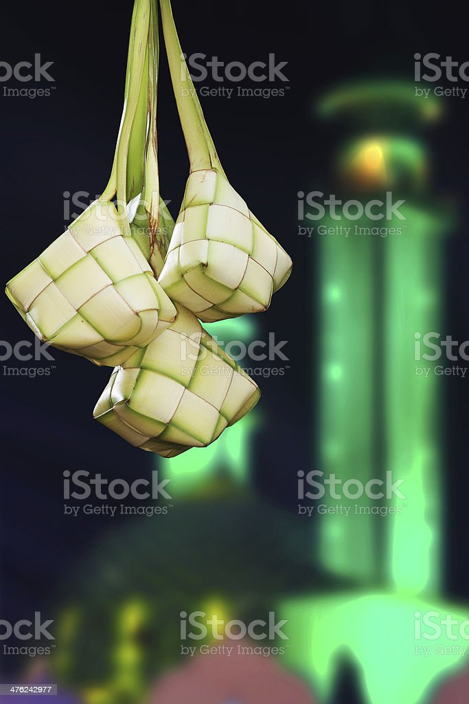 Ketupat royalty-free stock photo