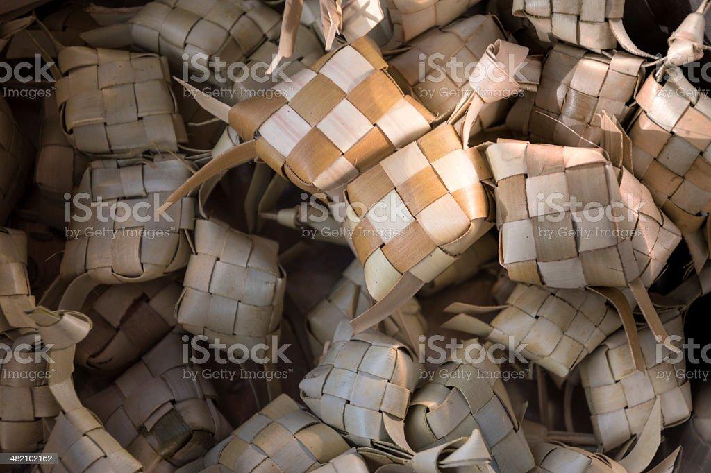 Ketupat stock photo