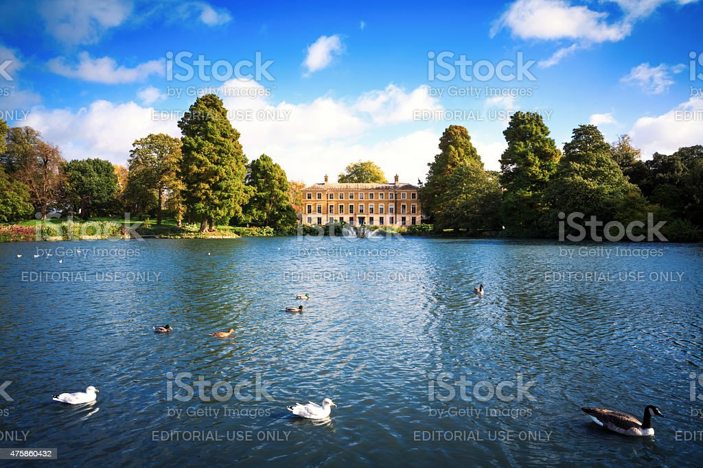 Kew Gardens In London stock photo