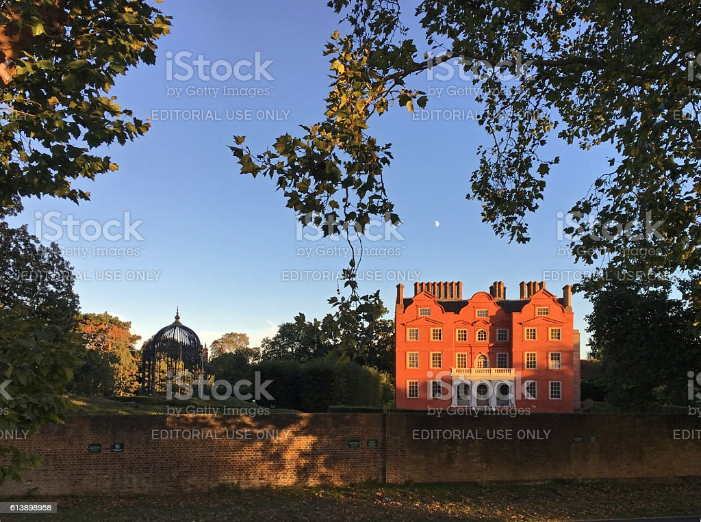 Kew Palace in Royal Botanic Gardens Kew, London, UK stock photo