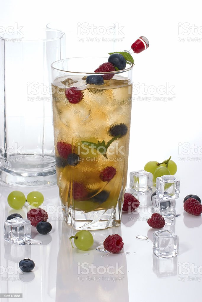 Kew Punch cocktail royalty-free stock photo