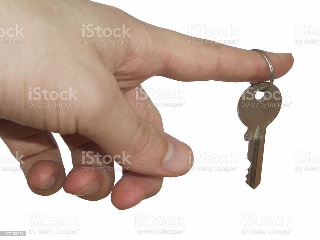 Key 2 stock photo