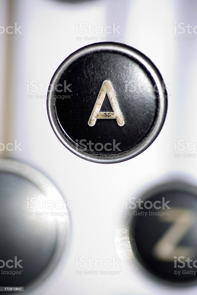 Key A is For Answer royalty-free stock photo