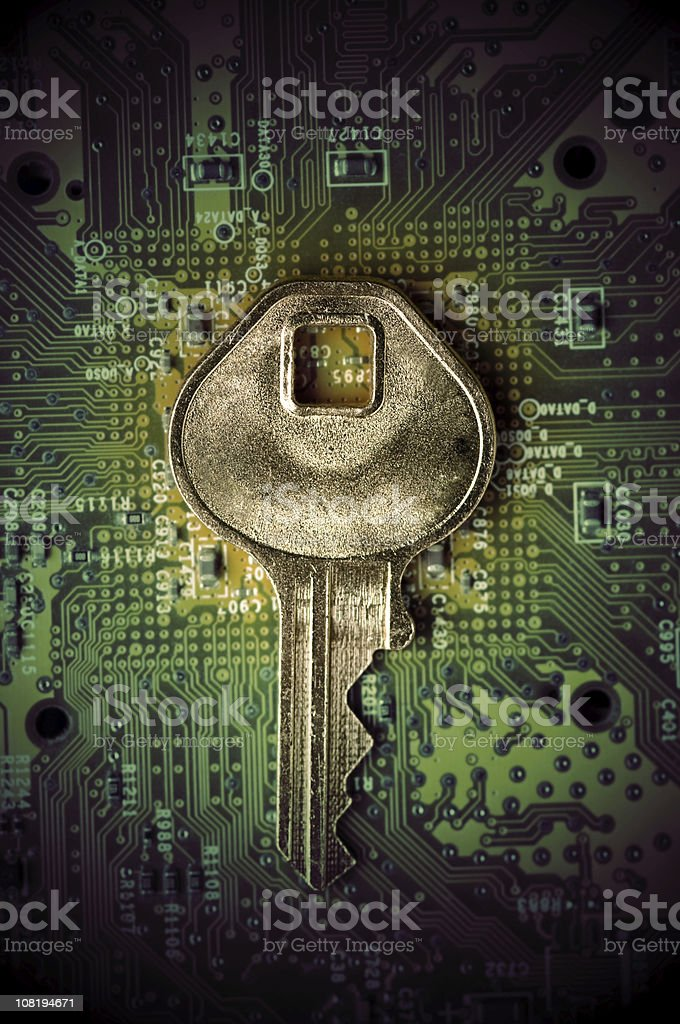 Key and stock photo