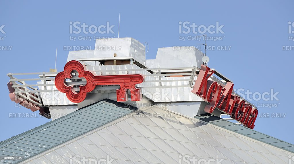 Key Arena royalty-free stock photo