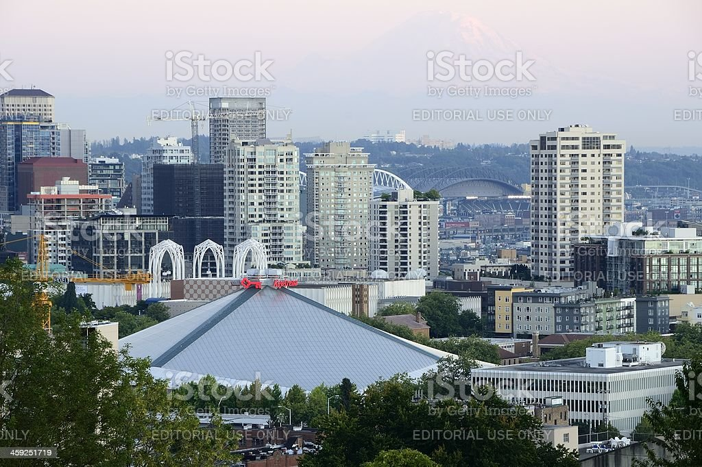 Key Arena stock photo
