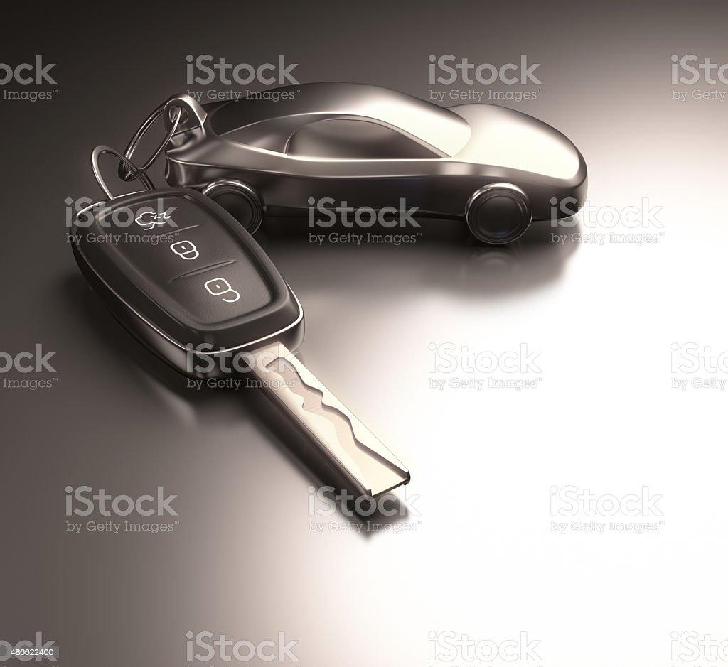 Key Car stock photo