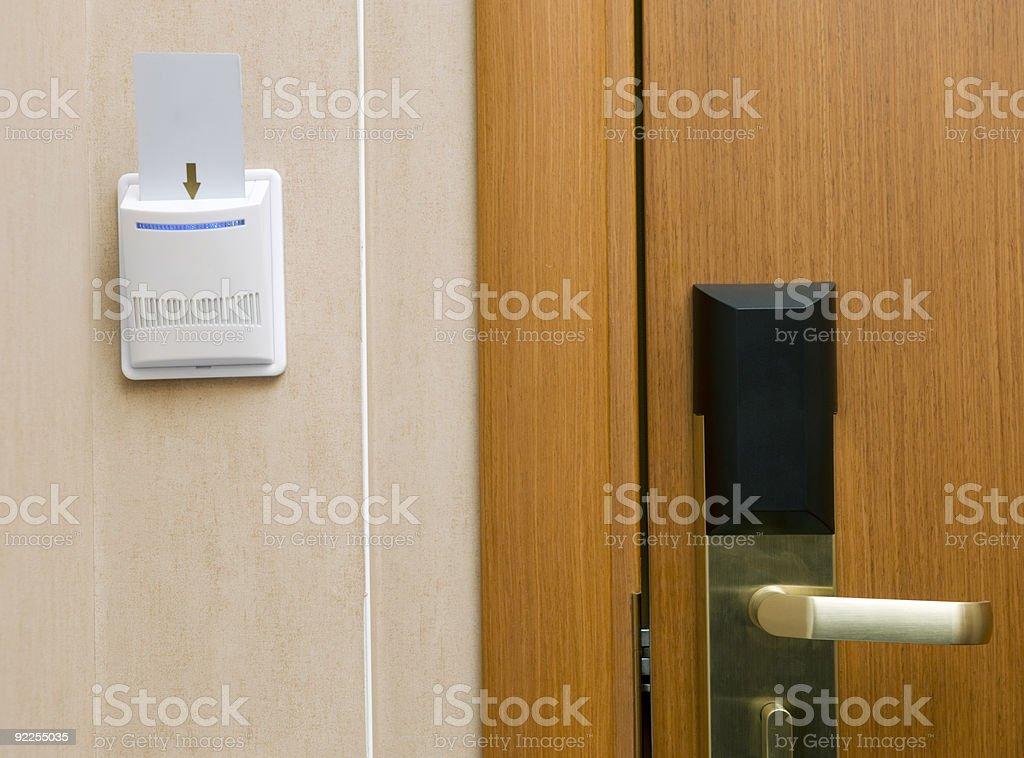 Key card royalty-free stock photo