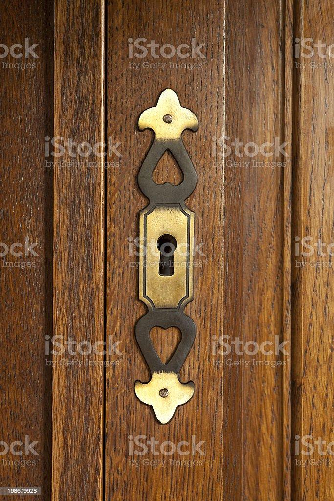 key doorplate royalty-free stock photo