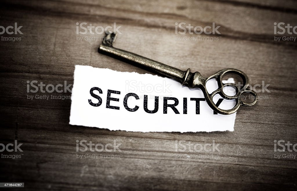 Key for security,concept.. royalty-free stock photo