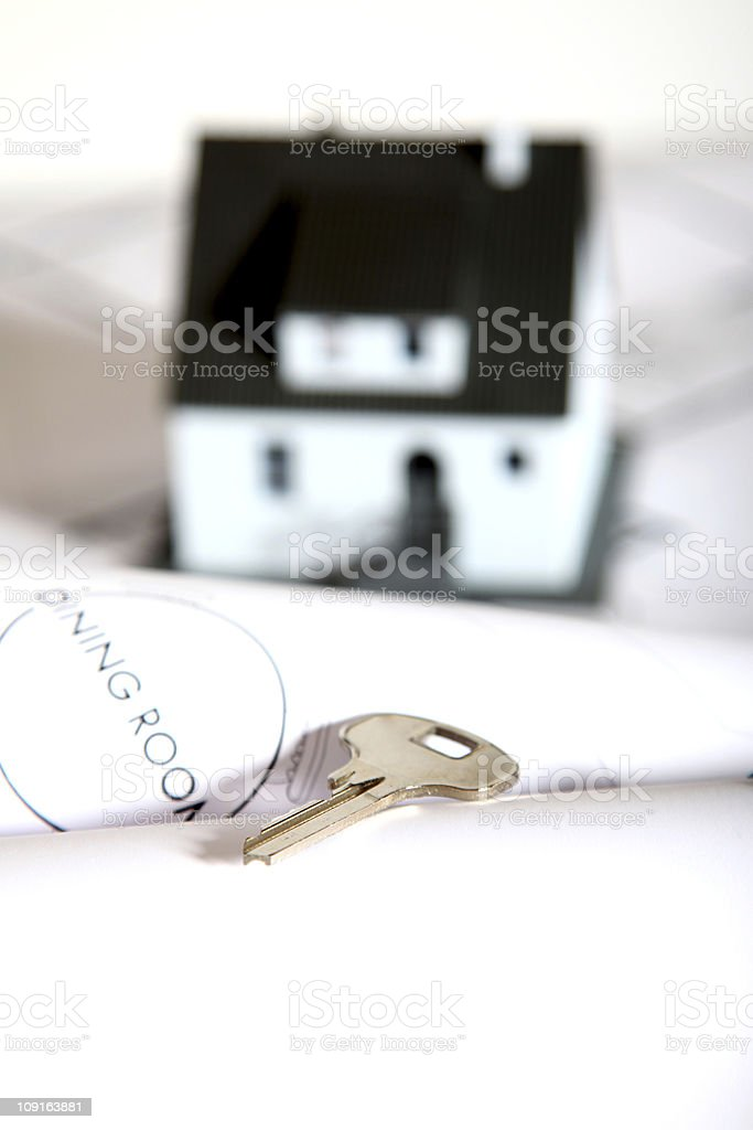 Key for the new house series XXL royalty-free stock photo