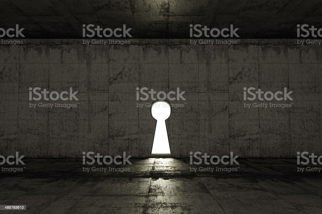 key gate stock photo