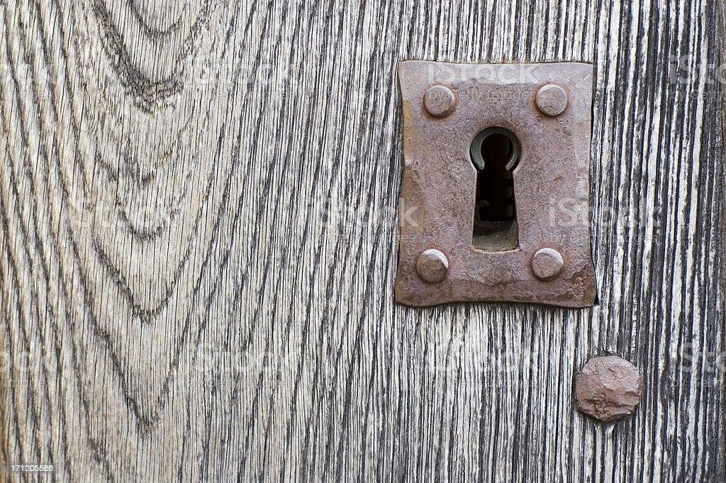 Key hole royalty-free stock photo