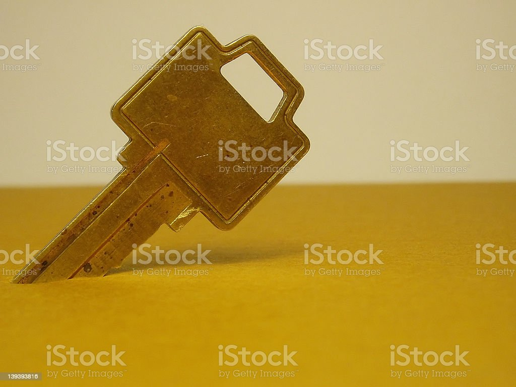 Key In Box royalty-free stock photo