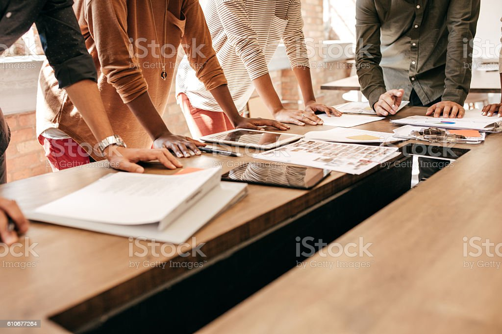 Key Ingredients for Effective Cross-Functional Working Meetings stock photo