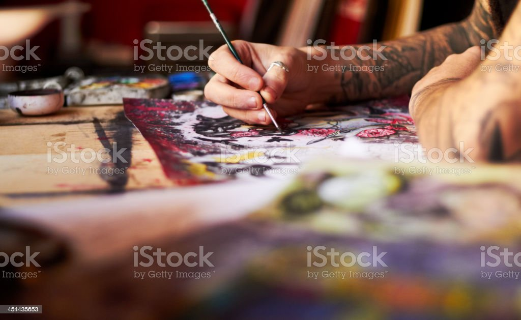 Key is in the detail royalty-free stock photo