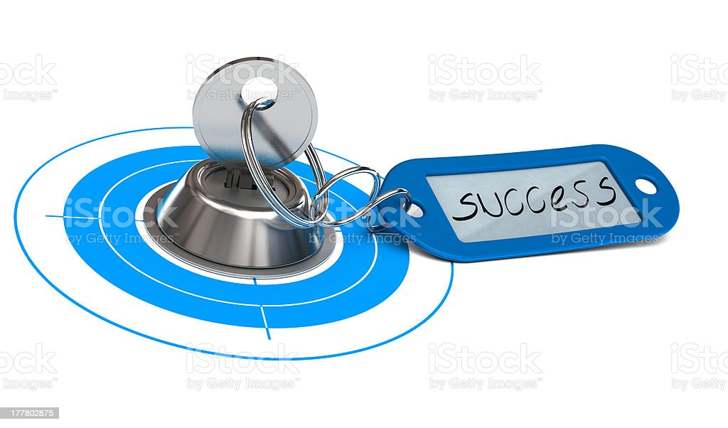 Key of Success Background, Business Opportunity royalty-free stock photo