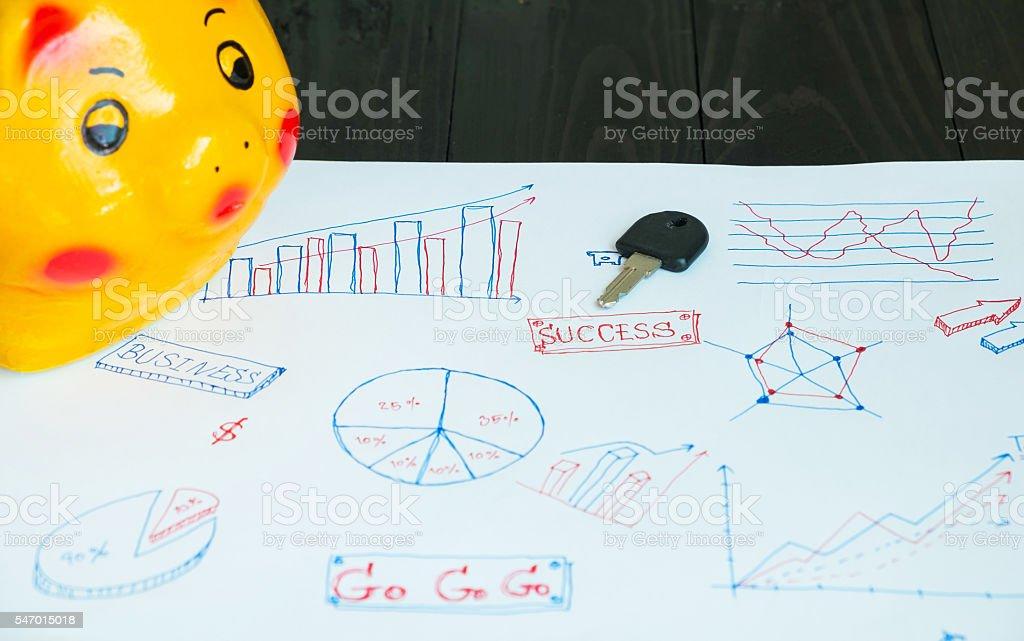 Schlüssel für den Erfolg Lizenzfreies stock-foto