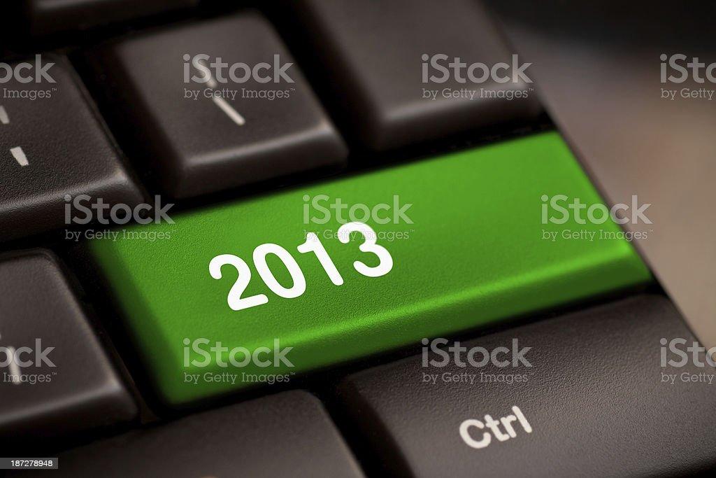 Key On Keyboard stock photo