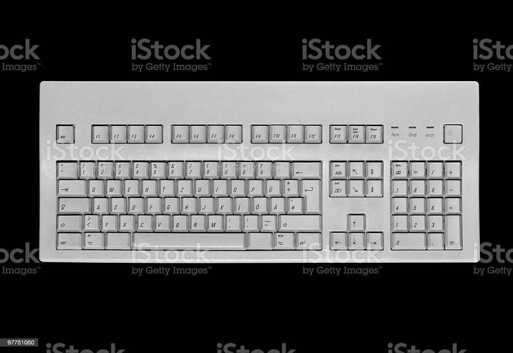 key pad on black royalty-free stock photo