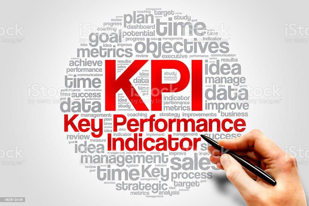 Key Performance Indicator stock photo