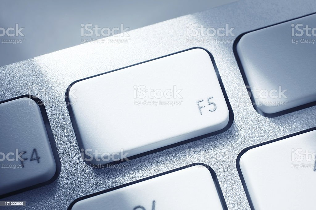 F5 Key stock photo