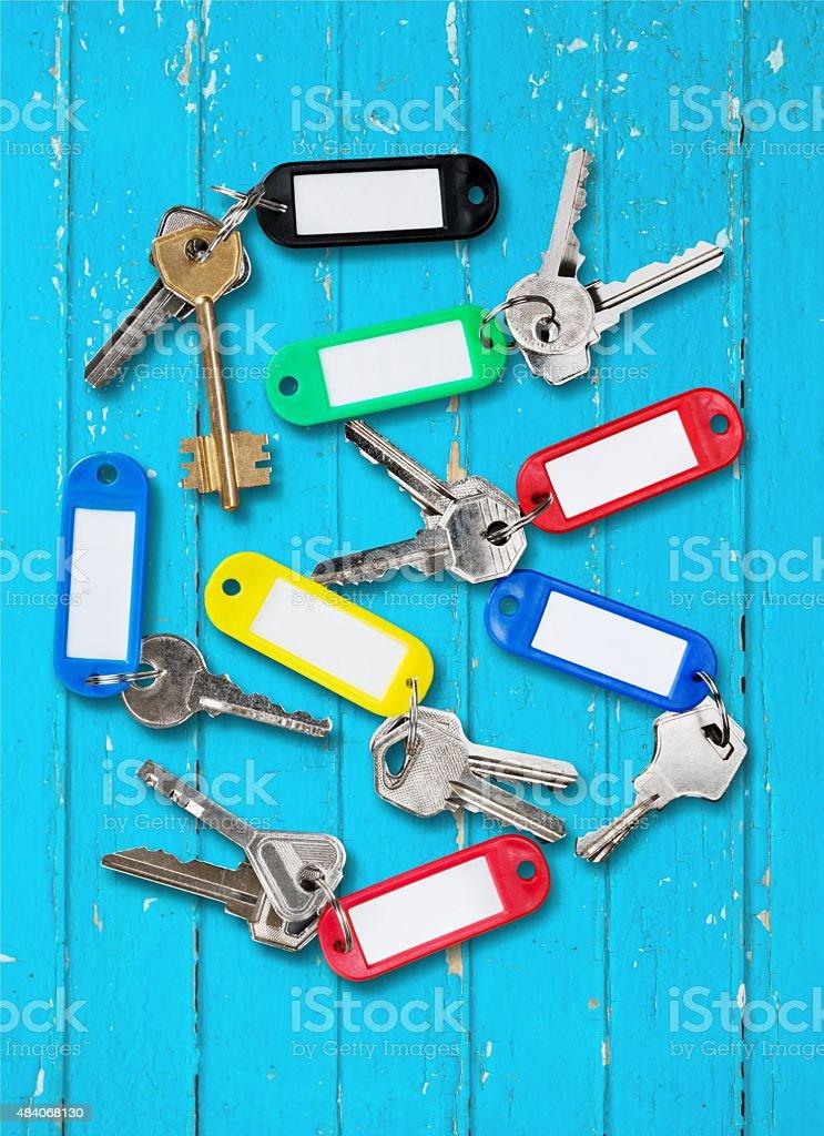 Key Rings stock photo