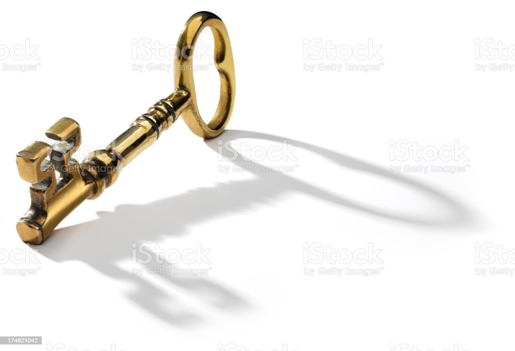 Key, Skelton Type royalty-free stock photo