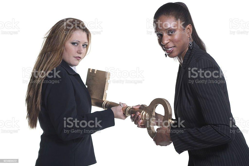 Key Snatchers stock photo