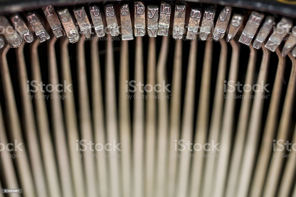 Key Strikes royalty-free stock photo