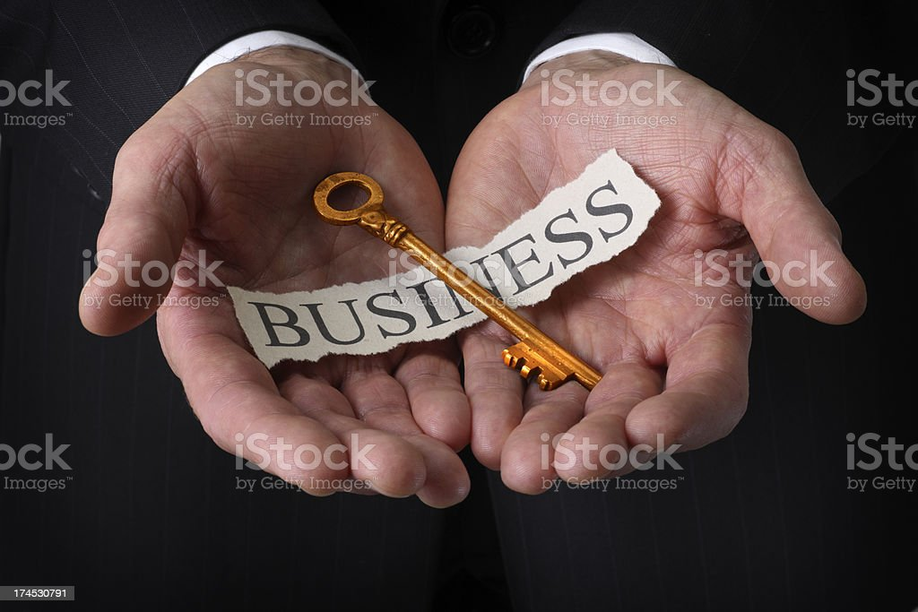 Key to Business royalty-free stock photo