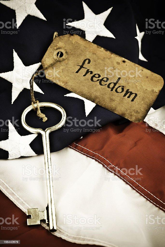 Key to Freedom royalty-free stock photo