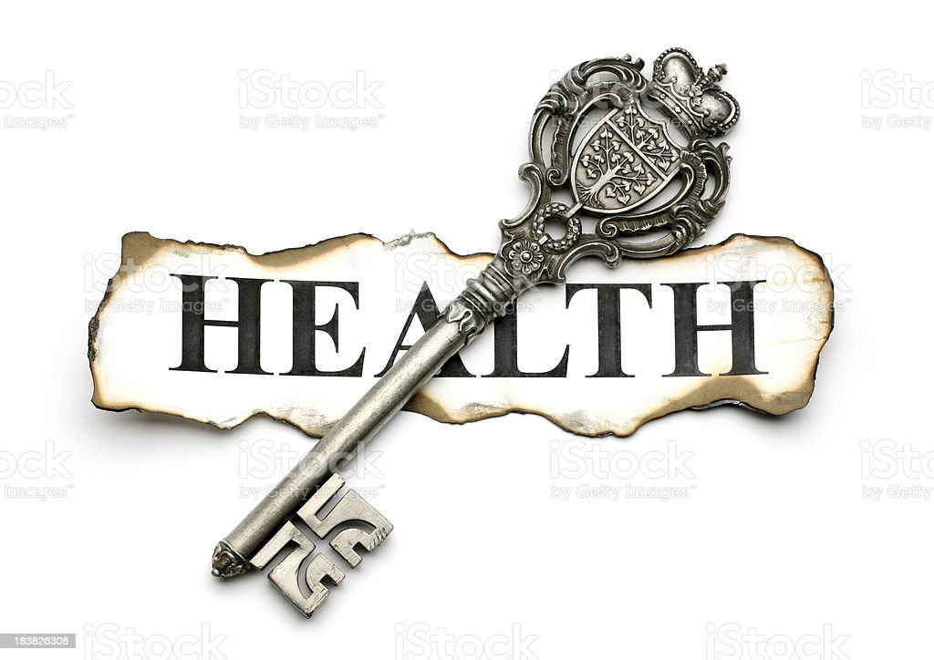key to health stock photo