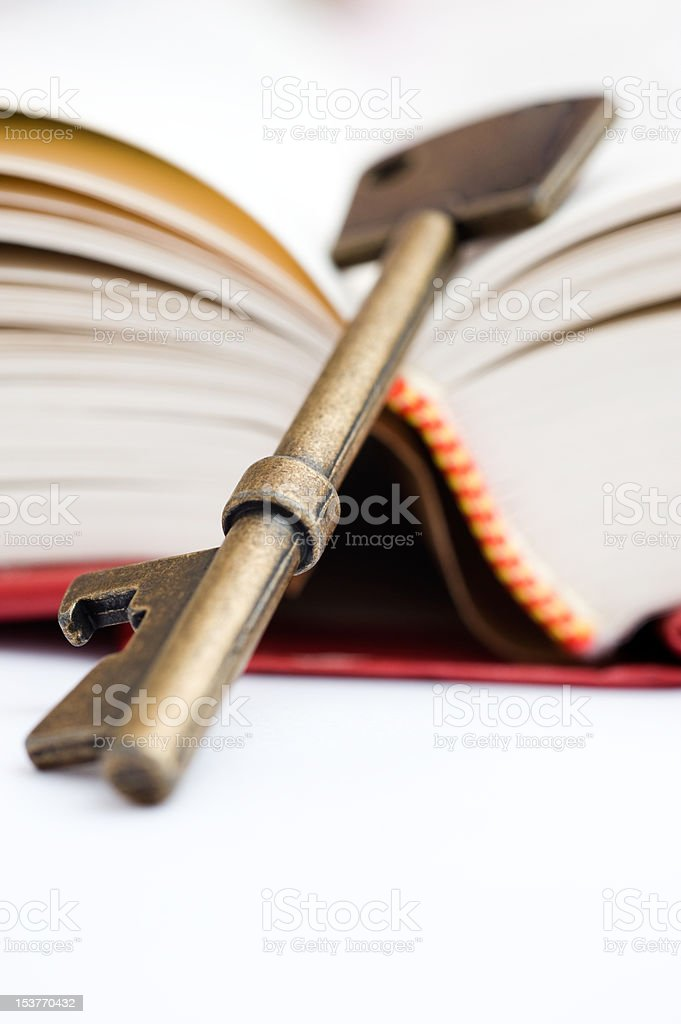 key to knowledge royalty-free stock photo