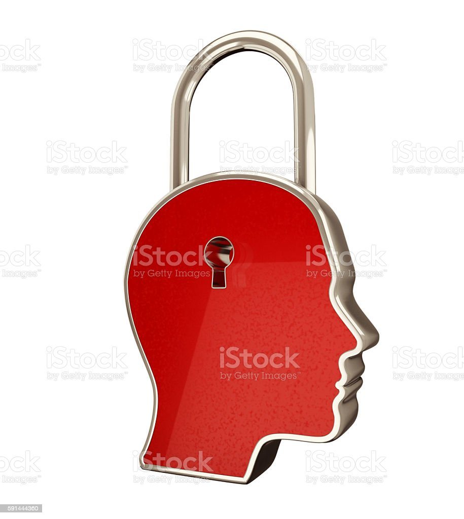 Key to Mind - Idea and startup concept. stock photo