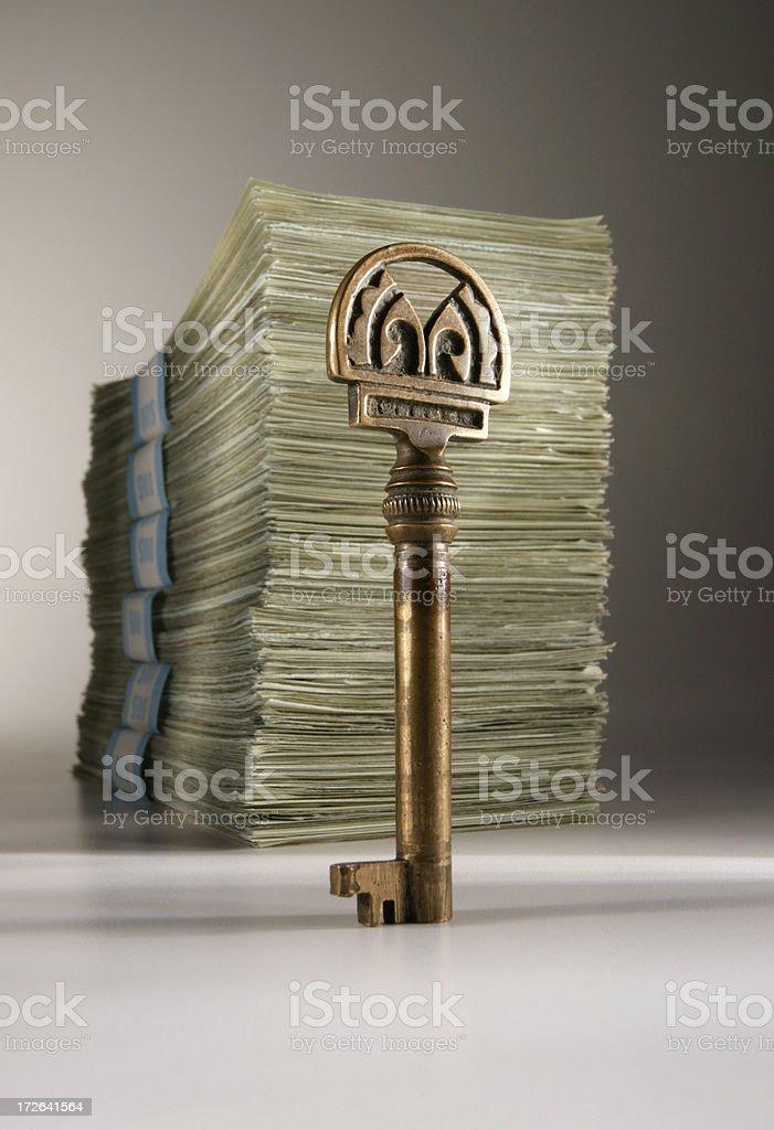 Key to Money Making 2 royalty-free stock photo
